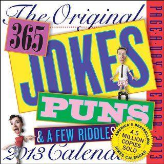 The Original 365 Jokes, Puns & a Few Riddles 2013 Daily Box Calendar  Wall Calendars