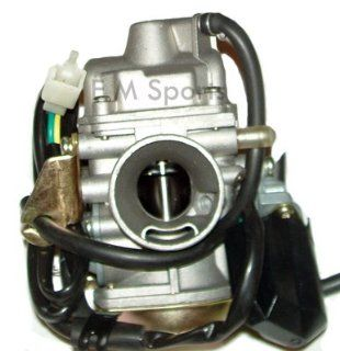 Gy6 Gas Scooter Bike Moped Engine Carburetor 125cc 150cc  Gas Powered Sports Scooters  Sports & Outdoors