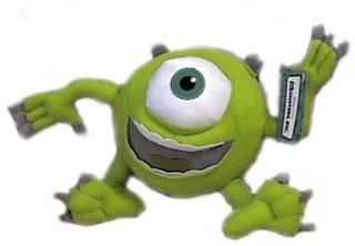 "Monsters Inc 8"" Mike Wazowski Plush Doll: Toys & Games"