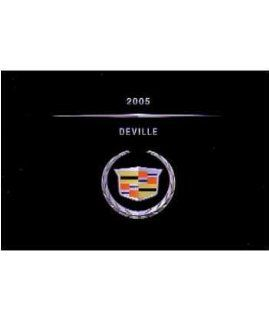 2005 CADILLAC DEVILLE Owners Manual [eb995NN]