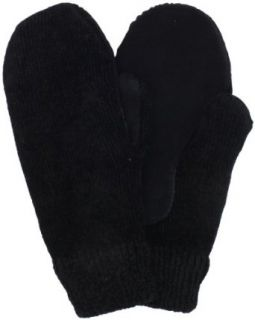 Isotoner Women's Chenille Glove with Suede Palm Patch, Black, One Size at  Women�s Clothing store: Cold Weather Gloves
