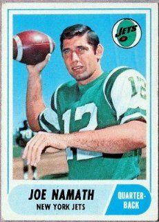 Joe Namath 1968 Topps Card #65 at 's Sports Collectibles Store