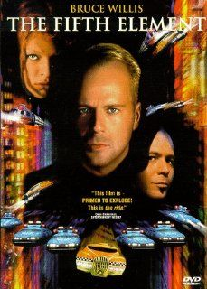 The Fifth Element Bruce Willis, Milla Jovovich, Gary Oldman, Ian Holm, Chris Tucker, Luke Perry, Brion James, Tommy 'Tiny' Lister, Lee Evans, Charlie Creed Miles, Tricky, John Neville, Thierry Arbogast, Luc Besson, Sylvie Landra, Iain Smith, John