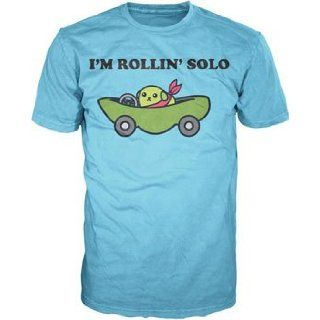 Bioworld Mens Mameshiba Rollin' Solo T shirt XXL Movie And Tv Fan T Shirts Clothing