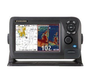 "Furuno GP1870F Combination Fishfinder/Chartplotter, MFG# GP1870F, 7"" widescreen color LCD, internal 50 channel GPS/WAAS, uses C Map 4D charts (sold separately), 50/200KHz 600/1000 Watt fishfinder, NMEA 2000 data output. Transducer sold separately. : B"