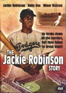The Jackie Robinson Story: Jackie Robinson; Ruby Dee; Minor Watson; Louise Beavers, Alfred E. Green: Movies & TV