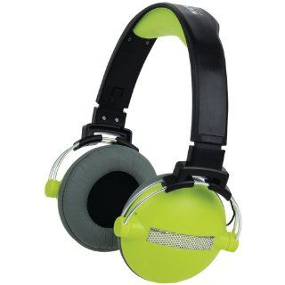 Merkury Innovations M HL570 Urban Beatz Headphones  Black/Green Electronics