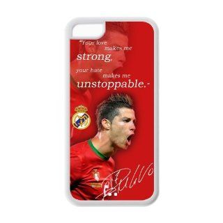 Cristiano Ronaldo iPhone 5c Case Real Madrid FC Silicone Cases Cover at NewOne: Electronics