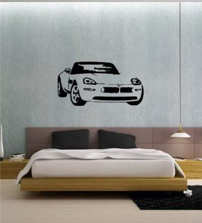 Wall Vinyl Sticker Decal Mural Mazda Miata Drift Car Sport Racing T14