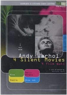 Andy Warhol Four Silent Movies (Kiss / Empire / Blow Job / Mario Banana) [Region 2] Andy Warhol, Tom Baker, Ed Sanders, Gerard Malanga, Mario Montez, Mark Lancaster, Naomi Levine, Rufus Collins, CategoryArthouse, CategoryEroticFilms, CategoryUSA, film mo