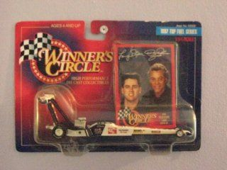 Winners Circle 1/64 Scale diecast with collectible card Don Prudhomme/ Larry Dixon Jr. 1997 Top Fuel Series The Snake: Toys & Games