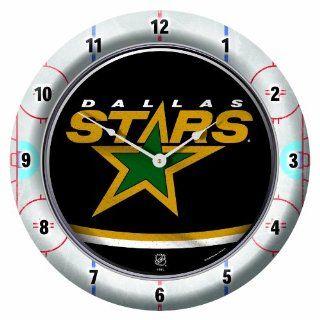 NHL Dallas Stars Game Time Clock  Sports Fan Alarm Clocks  Sports & Outdoors