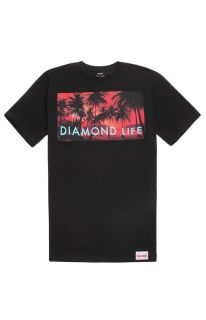 Mens Diamond Supply Co T Shirts   Diamond Supply Co Palm Photo T Shirt