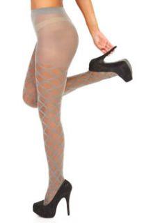 Betsey Johnson Hosiery 6802 Diamond Diva Sheer Tights