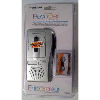 Memorex MB2186A Micro Cassette Player Voice Recorder VOX Voice Activated  Microcassette Recorders   Players & Accessories