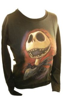 Nightmare Before Christmas Womens T Shirt   Jack Skellington Laughing (Extra Small): Clothing