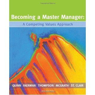 becoming a master manager Coupon: rent becoming a master manager a competing values approach 6th edition (9781118582589) and save up to 80% on textbook rentals and 90% on used textbooks get free 7-day instant.