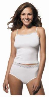 Hanes Women's Classic Nylon Brief Panties, Three Pack, White, 7 at  Women�s Clothing store