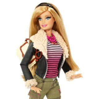 Barbie Style Leather Jacket Barbie Doll Toys & Games