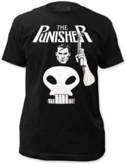 Marvel Punisher Smoking Gun T Shirt Movie And Tv Fan T Shirts Clothing
