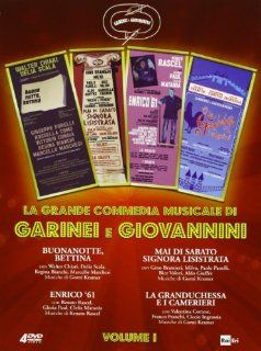 garinei e giovannini   la grande commedia musicale #01 (3 dvd) box set dvd Italian Import: johnny dorelli, daniela goggi, gino landi: Movies & TV