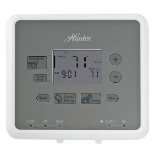 Hunter 5 2 Day Programmable Thermostat
