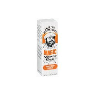 Chef Paul Prudhomme's Seafood Magic Seasoning Blend [Case Count: 6 per case] [Case Contains: 12 OZ] : Mixed Spices And Seasonings : Grocery & Gourmet Food