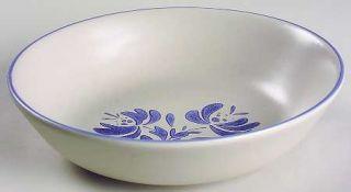 Pfaltzgraff Yorktowne (China) Individual Salad Bowl, Fine China Dinnerware   Blu