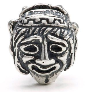 Melina World Jewellery   Comedy & Tragedy Masks / Comedia y Tragedia Mascarillas   5002   Sterling Silver 925   Handmade in Greece and inspired by Olympic, Greek and Mediteranean history and motives. Beads fits Biagi. Chamilia, Pandora and Trollbeads e
