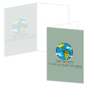 ECOeverywhere Save the Earth Boxed Card Set, 12 Cards and Envelopes, 4 x 6 Inches, Multicolored (bc12712) : Blank Postcards : Office Products