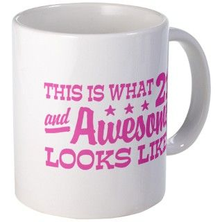 Funny 21st Birthday Mug by perketees