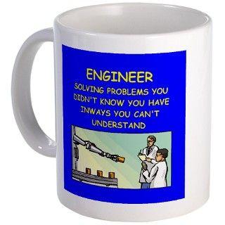 funny engineering jokes Mug by ScienceMadeSilly