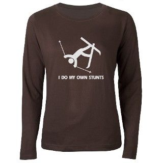 Snow Ski, Skiing Stunts T Shirt by idomyownstunts