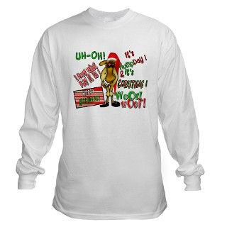 Funny Christmas Hump Day Camel Long Sleeve T Shirt by getyergoat