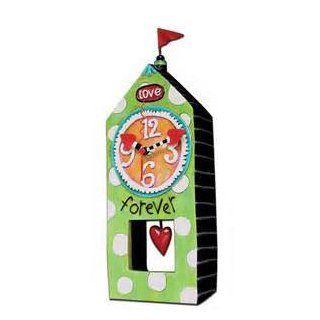 Allen Designs Forever Love House Pendulum Clock   Grandfather Clocks