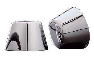 Kuryakyn Chrome Axle Nut Covers for 2000 2007 Harley Davidson Touring and Dyna Models (Except 2004 2005 FXDWG & '07 FXDSE) Automotive