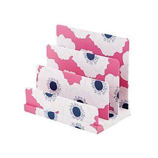 See Jane Work(R) Desk Valet, File Letter Sorter, Pink Floral  Office Desks