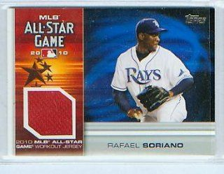 Rafael Soriano 2010 Topps Baseball MLB All Star Game Work Out Jersey Card #AS RS New York Yankees Sports Collectibles