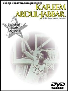 Kareem Abdul Jabbar Greatest Sports Legends DVD: Kareem Abdul Jabbar, Berl Rotfeld, Jayne Kennedy, host Jayne Kennedy journeys back with Kareem from his days at Power H.S. & UCLA through his NBA career. He remains the NBA's All time leading scorer.