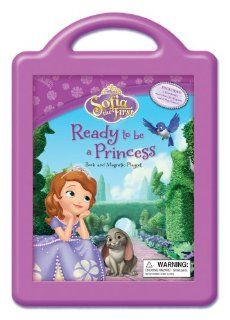 Sofia the First Ready to be a Princess: Book and Magnetic Playset: Disney Book Group, Disney Storybook Art Team: 9781423184454: Books