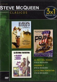 El Rey Del Rodeo (Junior Bonner) (1972) / Prueba 1 (On Any Sunday) (1971) / La Ultima Tentativa (Baby The Rain Must Fall) (1965) 3 Movie On 1 Dvd (Non Us Format) (Region 2) (Import): Robert Preston, Ida Lupino, Joe Don Baker, Ben Johnson, Barbara Leigh Ste