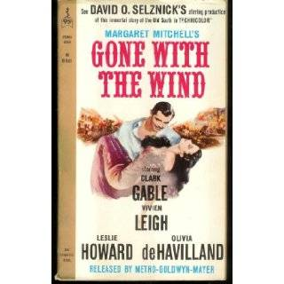 Gone with the Wind Movie Cover Margaret Mitchell Books