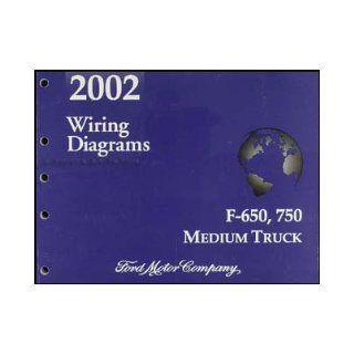2002 Ford F650 F750 Medium Truck Wiring Diagram Manual Original: Ford: Books
