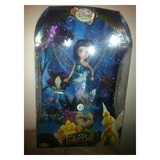 "Disney Fairies Silvermist Water Fairy 10"" Porcelain Doll   Silver Mist Toys & Games"