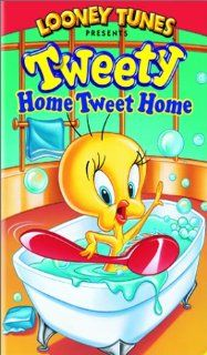 Tweety   Home Tweet Home [VHS]: Mel Blanc, Bea Benaderet, Friz Freleng, Treg Brown, Edward Selzer, Tedd Pierce: Movies & TV