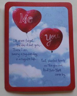 "Greeting Birthday Card Romance Taylor Swift #310 ""Me, You, I'll Never Forget the Day I Met YouThere I Am, Having a Regular Day in a Regular Life"" : Paper Stationery : Office Products"