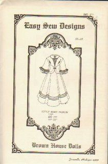 "Brown House Dolls (Antique & Reproduction Doll Clothes Pattern) BHD 275 19"" 20"" Little Women Fashion ""Jo""  Other Products"