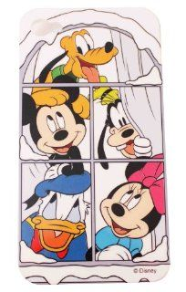 BUKIT CELL Disney � Mickey Minnie Donald Goofy Pluto HARD BACK PIECE Faceplate Protector Case Cover (Disney Family CS) for Apple iPhone 4S / 4G / 4 (Fits any carrier AT&T, VERIZON AND SPRINT) + Free WirelessGeeks247 Metallic Detachable Touch Screen STY