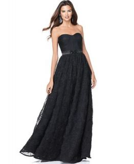 Adrianna Papell Dress, Strapless Evening Gown   Dresses   Women