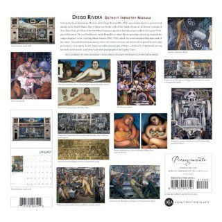 Diego Rivera Detroit Industry Murals 2009 Wall Calendar Detroit Institute of Arts 9780764943744 Books